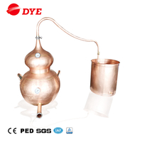 20L 50L 100L 150L Mini Distillery Equipment Copper Home Distillation Equipment for Sale