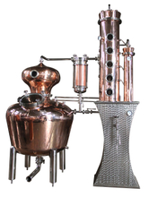 200L Copper Distillery Equipment for Prime Vodka Gin Distilling