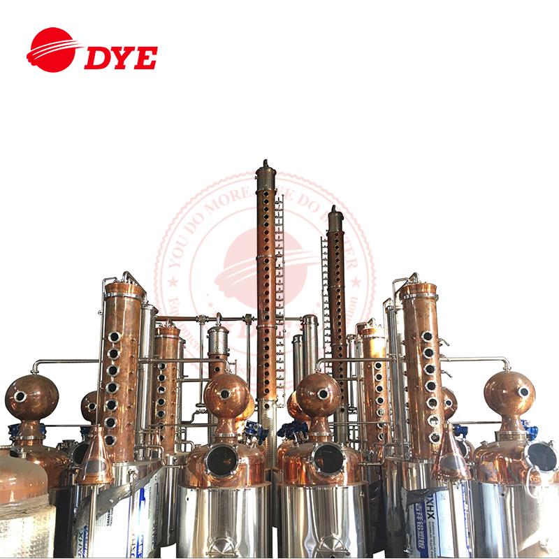 Stainless Steel Industrial Flute Alcohol Distillation Column Price