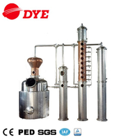 Alcohol Distillery Equipment Copper Distillation Column Gin Still for Sale