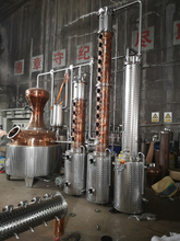 800L Industrial Alcohol Whisky Vodka Distillation Machine