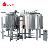 Stainless Steel Two Vessels Brewery Equipment
