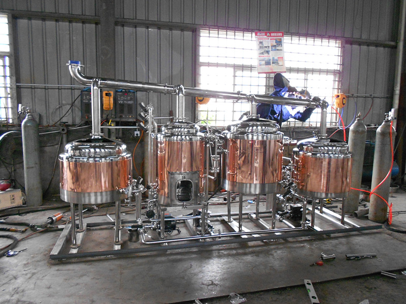 100L High Quality Mini Beer Brewery Equipment for Restaurants