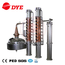 1200LCopper Gin Still Vodka Whisky Alcohol Distillery Equipment