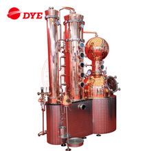 DYE-I-250liter high quality copper distiller equipment for whiskey brandy gin
