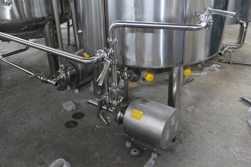 Centrifugal pump for the brewery system