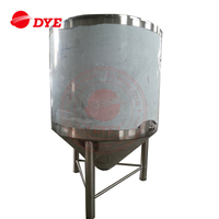 3BBL-200BBL Cooling Jacketed Conical Stainless Steel Fermenters