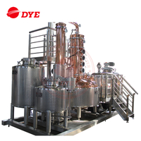 Industrial Alcohol Vodka Brandy Distillation Equipment