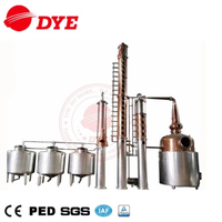 2000L Vodka Distillery Equipment Copper Still
