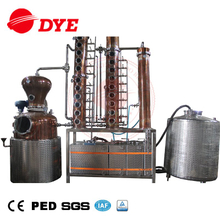 copper steam vodka distillation unit