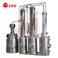 1000L Industrial Steam Vacuum Alcohol Distillation Equipment