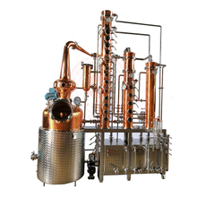 Spirit Alcohol Distilling Equipment Gin Still Copper Distillery Machine